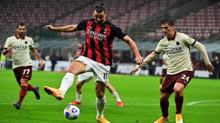 Hasil Liga Italia - AC Milan Kembali ke Puncak Berkat Gol Ibrahimovic