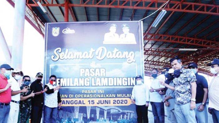 Wali Kota Tinjau Kesiapan Akhir Pasar Gemilang Lamdingin Serambi Indonesia