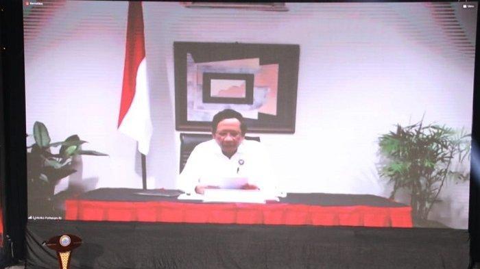 Menko Polhukam Mahfud MD Minta Pengelola Perbatasan Negara Perketat Pengawasan Protokol Covid-19