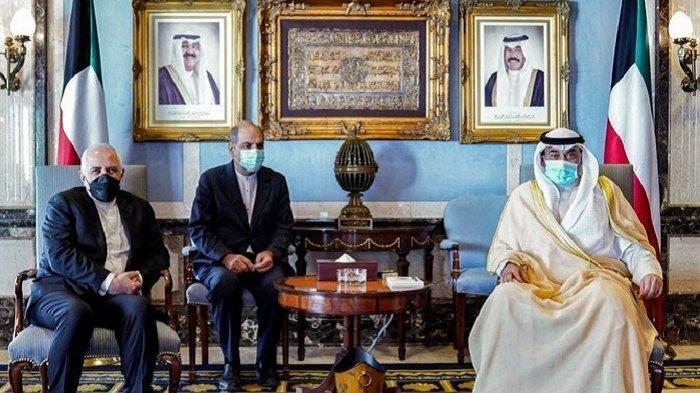 Menlu Iran Kunjungi Kuwait, Seusai Bertemu Milisi Houthi Untuk Mendukung Gencatan Senjata di Yaman