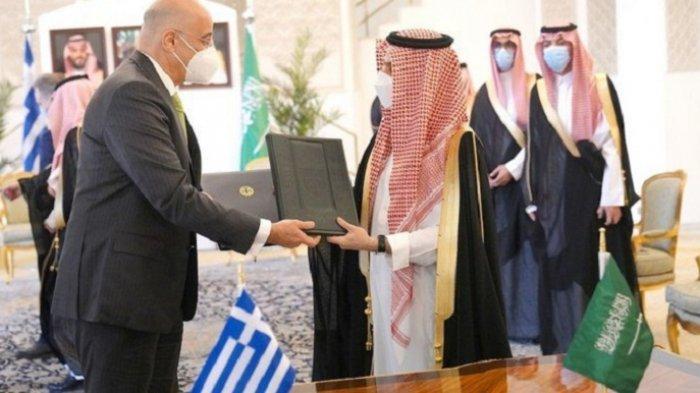 Inggris dan Yunani Perkuat Kesepakatan Pertahanan dengan Arab Saudi