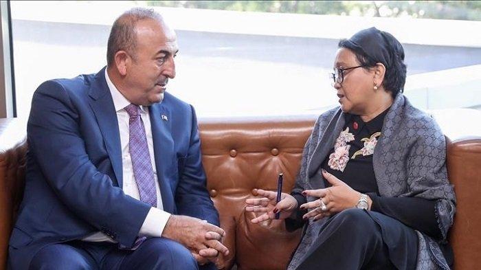 Menlu Indonesia dan Turki Bahas Situasi Terkini di Palestina