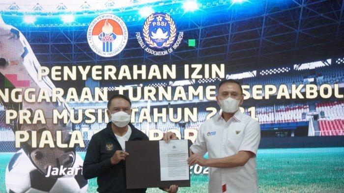 Menpora Serahkan Surat Izin, PSSI Segera Siapkan Turnamen Pramusim