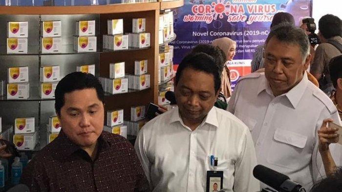 Bahan Baku Obat dan Alat Kesehatan di Indonesia Masih Impor,Menteri BUMN: Sangat Menyedihkan