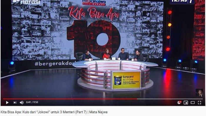 Erick, Nadiem, dan Wishnutama Ngaku Berat Jadi Menteri Jokowi, Begini Reaksi Najwa Shihab