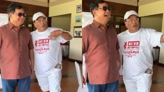 Bersikap Rendah Diri dan Tak Mau Sombong, Hotman Paris Bikin Prabowo Terbahak: Anak Menteri Nih