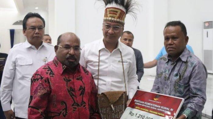 Pulihkan Papua dan Papua Barat Pasca Kerusuhan, Kemensos Kucurkan Bantuan Rp 7,3 Miliar