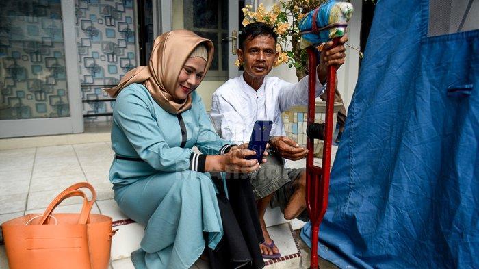 FOTO - FOTO : Senyum Penyandang Disabilitas di Dinsos Aceh