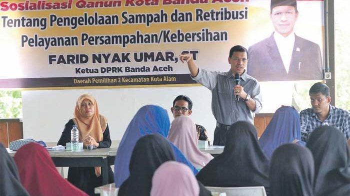 Ketua DPRK Banda Aceh Sosialisasi Qanun Pengelolaan Sampah Kepada Masyarakat
