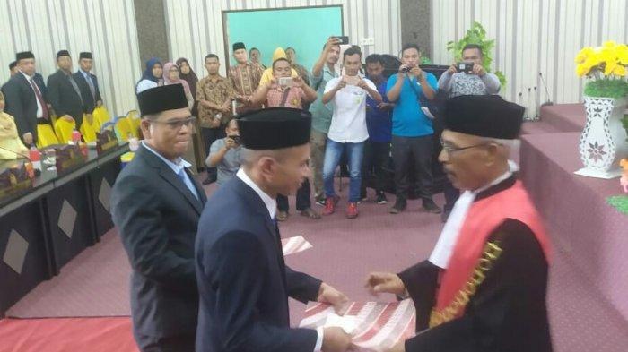 Aritonang Resmi Jadi Ketua DPRK Aceh Singkil