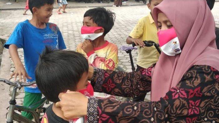 9 Desember Seluruh Anak Usia Sekolah di Aceh Pakai Masker Serentak, Pemerintah Canangkan GEMAS