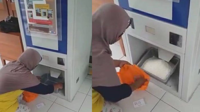 Viral, Ada Mesin ATM Beras di Masjid Salman ITB untuk Warga Kurang Mampu, Cara Ambilnya Unik