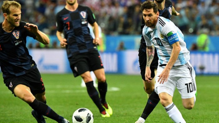 Piala Dunia 2018: Dipukul Kroasia 3-0, Argentina Makin Terjepit, Bagaimana Peluang Lolos Messi dkk?