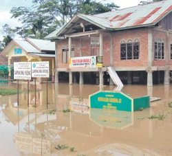 Lima Desa Terendam Banjir