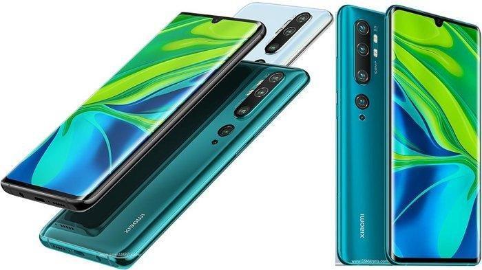 Daftar Harga Ponsel Xiaomi Januari 2020, Mi Note 10 Pro Punya Lima Kamera, Harganya Rp 6,9 Jutaan