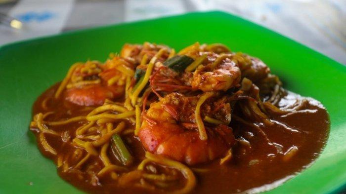 Lezatnya Mie Udeueng Wat Khas Meunasah Geudong, Kuliner Aceh Perpaduan Cina dan India
