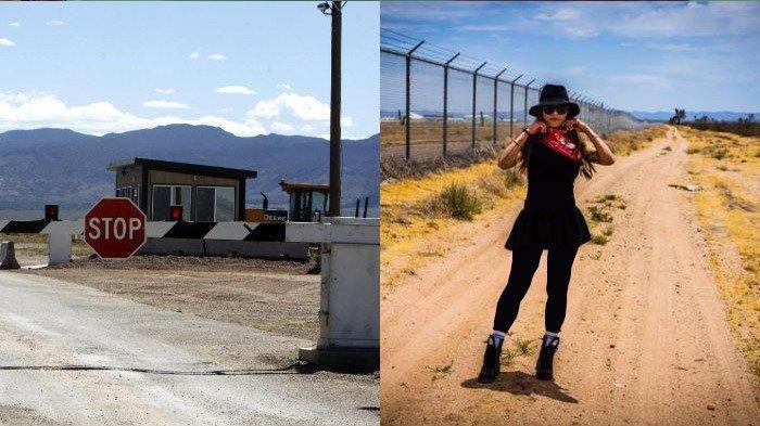 Tarik Rasa Penasaran Netizen, Mia Khalifa Berhasil Kunjungi Tempat Terlarang Area 51