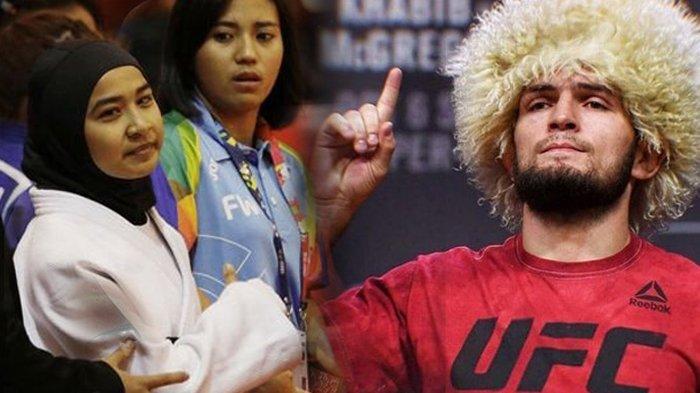 Juara UFC Khabib Nurmagomedov Tolak Minum Khamar & Atlet Judo Aceh Miftahul Jannah Pertahankan Hijab