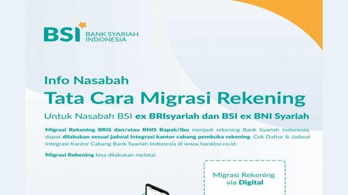 Nasabah Mandiri Syariah Tak Perlu Migrasi ke Rekening BSI, Bagaimana Dengan Nasabah BRIS dan BNIS?