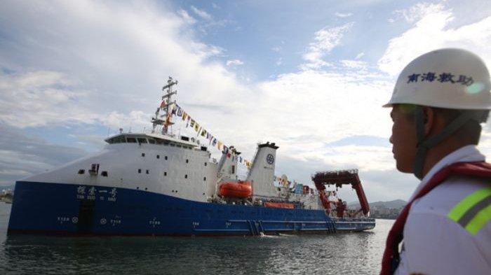 Kapal Tan Suo 2 Segera Angkat Bangkai KRI Nanggala 402, Punya Daya Selam hingga 4.500 Meter