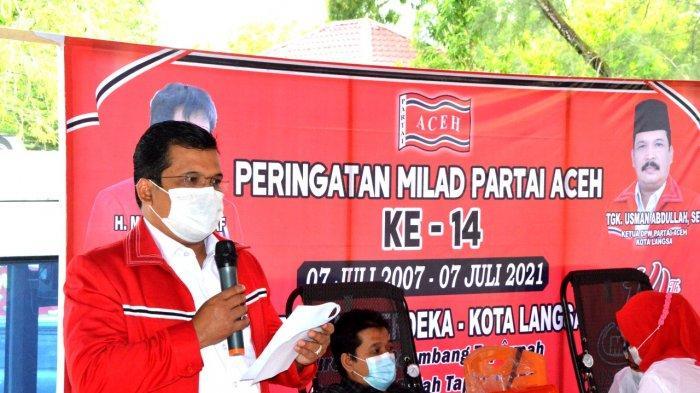 Milad Ke-14 PA di Langsa, Donor Darah dan Santuni Anak Yatim, Ini Pesan Mualem Disampaikan Toke Seum