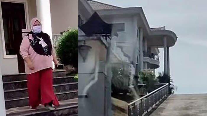 Miliki Rumah Bak Istana di Atas Bukit, Perilaku Pemilik Rumah Dapat Pujian dari Pengguna Medsos