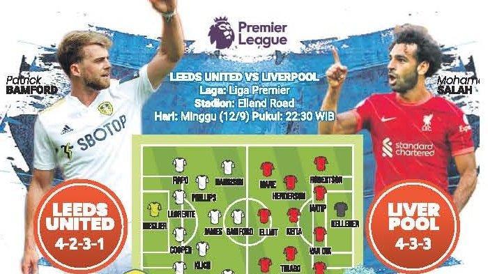 Leeds United vs Liverpool, The Whites Bidik Kemenangan Pertama