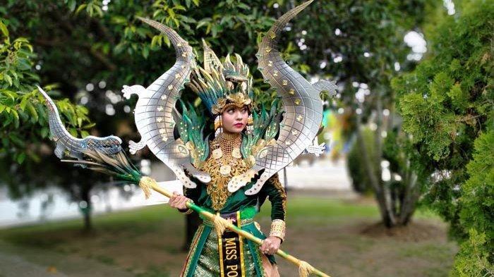 Gagal Masuk Top 10 Nasional, Miss Polo Aceh 2020  Raih Juara di Dua Kategori