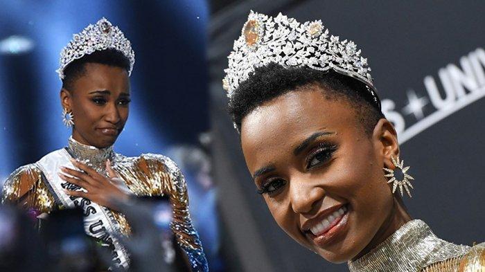 Sosok Zozibini Tunzi, Puteri Afrika Selatan Jawara Miss Universe 2019, Indonesia Terhenti 10 Besar