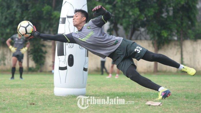 Dipanggil Pelatih Shin Tae-yong, Miswar Saputra Akan Bersaing dengan Kiper Berlabel Timnas
