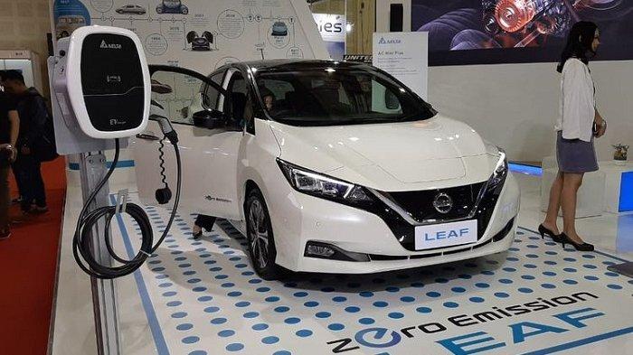 Mobil Listrik Nissan Leaf Siap Mengaspal di Indonesia