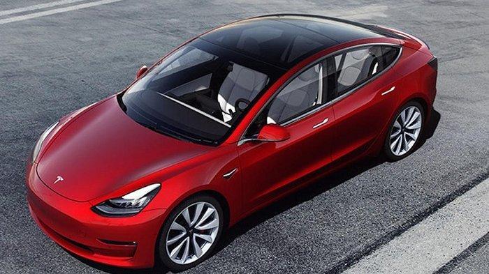 Mobil listrik Tesla Model 3