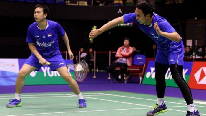 Hong Kong Open 2018 - Ahsan/Hendra Menang dan Jadi Wakil Kedua Indonesia di Semifinal