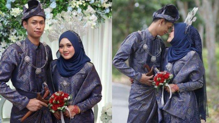 Mohammad Helmi Basri bersama sang istri