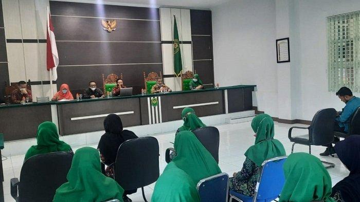Hakim Tinggi Pengawas Mahkamah Syar'iyah Aceh Lakukan Monev ke Jantho
