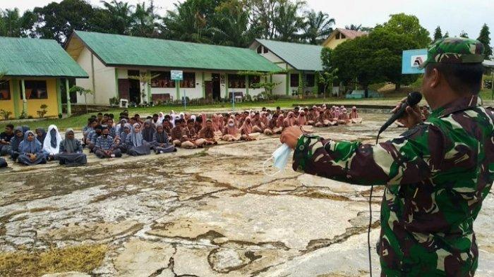 Danramil Beri Motivasi Siswa SMA Ranto Peureulak Aceh Timur