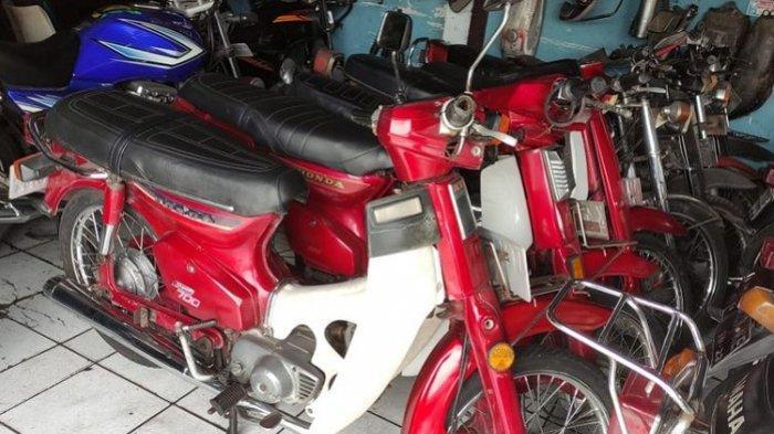 Mau Beli Motor Antik, Datang Saja ke Kota Solo, Beragam Merek Tersedia