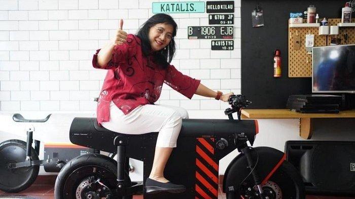 Motor Listrik Katalis EV 1000 Indonesia Siap Pamer Diri di Dunia