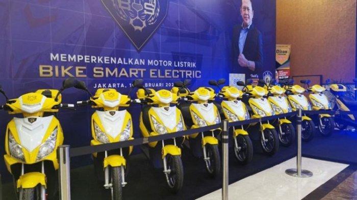 Motor Listrik Bike Smart Electric dari IMI Akan Segera Dipasarkan