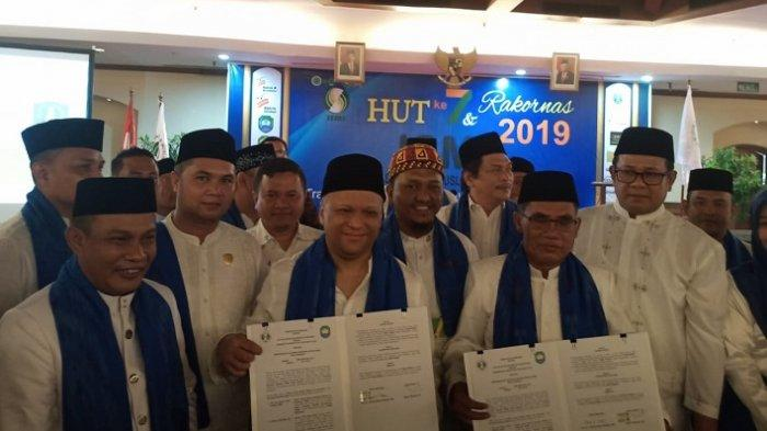 Bupati Abdya Raih Award dan Lakukan MoU KEK Halal Barsela dengan ISMI Pusat