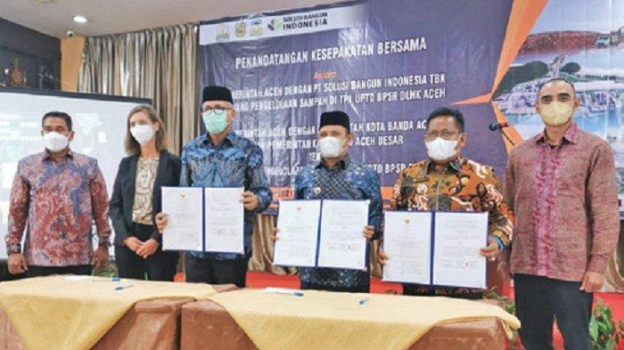 Wali Kota Banda Aceh MoU dengan Gubernur Aceh untuk Penanganan Sampah