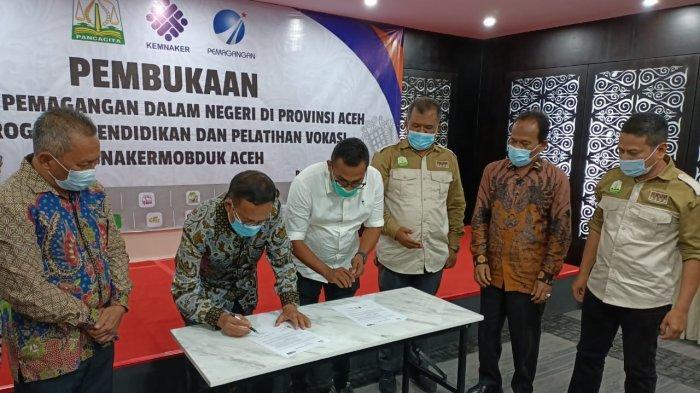 FKJP Aceh Magangkan 310 Anak Muda pada 55 Perusahaan di Aceh dan Nasional
