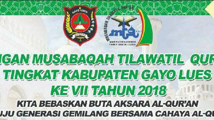 Mtq Gayo Lues Dibuka Nanti Malam Di Kutapanjang Serambi Indonesia