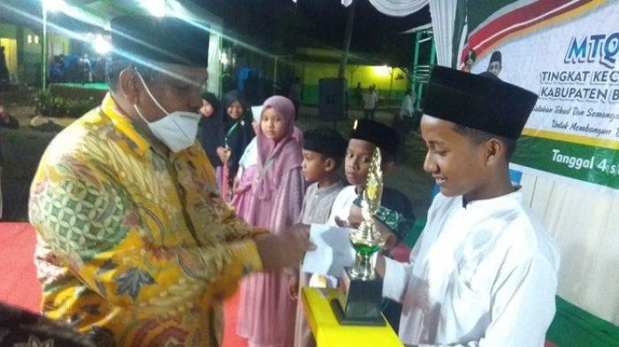 MTQKota Juang Berakhir,Kemukiman Bireuen Jadi Juara Umum