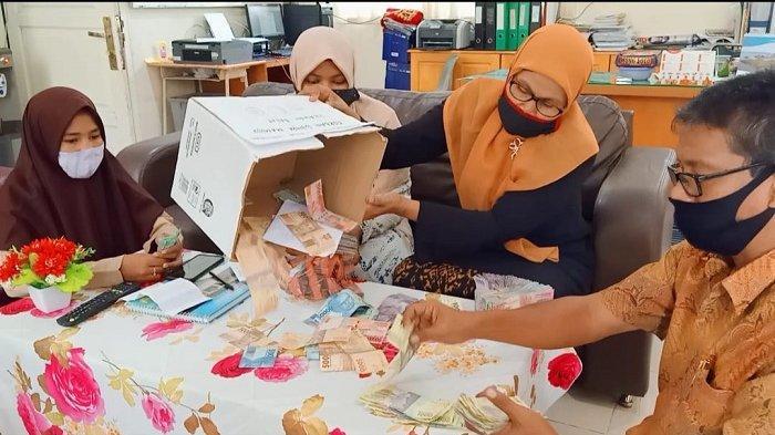 MTsN 1 Model Banda Aceh Galang Bantuan Korban Gempa Mamuju Sulawesi Barat