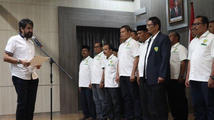 Lantik Pengurus PASI Aceh, Mualem Harap Cabor Atletik Tambah Medali di PON Papua