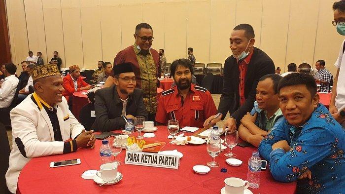 Mualem Kumpulkan Petinggi Partai Politik Koalisi Aceh Bermartabat di Hermes Hotel