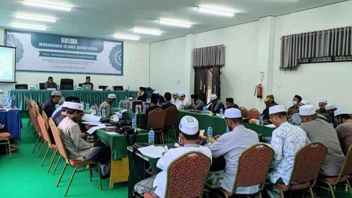 Majelis TASTAFI Ulama Aceh Bersama KKR Aceh Bahas Rekonsiliasi Menurut Perspektif Islam