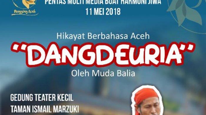 Muda Belia, Seniman Hikayat Aceh akan Pentas di Taman Ismail Marzuki Jakarta