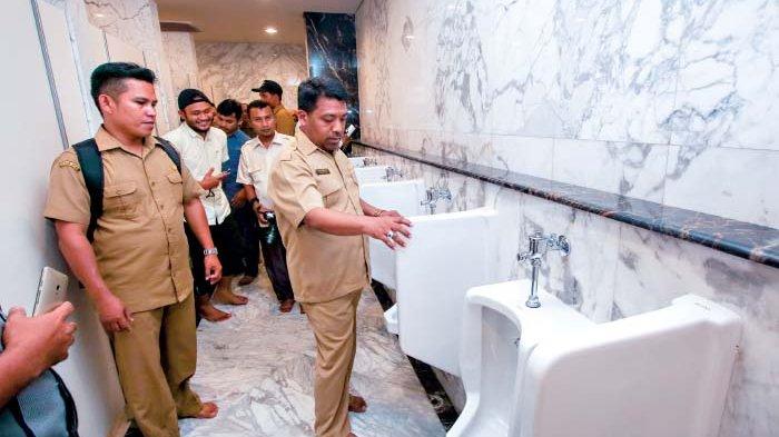 Sejumlah Toilet di Masjid Raya Baiturrahman Rusak, Jamaah tak Nyaman